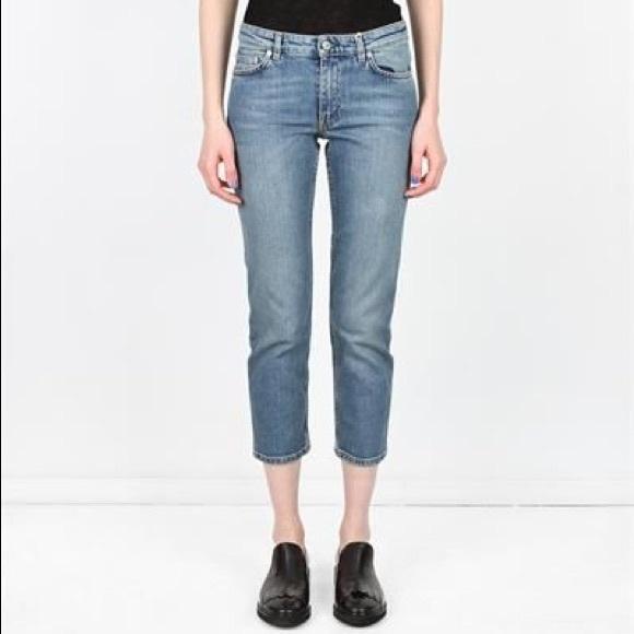 15bc41d819ea Acne Denim - Acne studios row lv skinny jeans